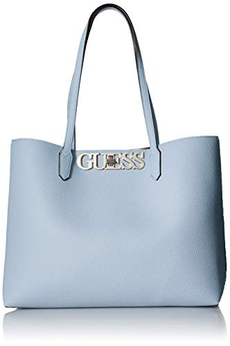 GUESS Uptown Chic Pebble Barcelona Tote, sky