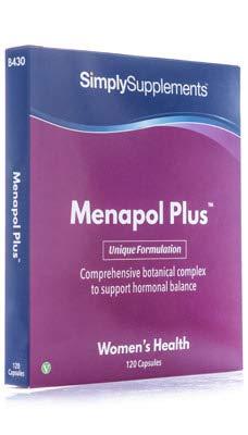 Menapol Plus -120 cápsulas – Hasta 2 meses de suministro – Para los síntomas de