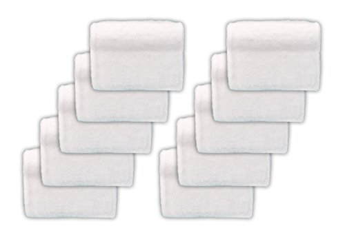 Baseboard Buddy 10X Replacement Pads- 10 Pack of Microfiber, small - Buddy Replacement