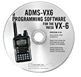 RT Systems Original ADMS-VX6 USB Programming Software (Version 5.00) with USB-57B USB to Extended 4-Conductor Plug Cable for the VX-6R