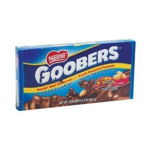 - Nestle Goobers Theater Box 3.5 oz.: 18 Count by Goobers
