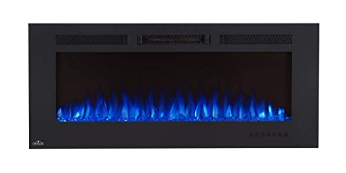 Napoleon NEFL50FH-MT Allure Phantom Series Linear Slimline Wall Mount/Built-In Electric Fireplace, 50 Inch