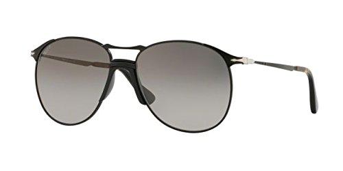 Persol Men's 0PO2649S Black/Grey Gradient/Dark Grey Polarized One Size