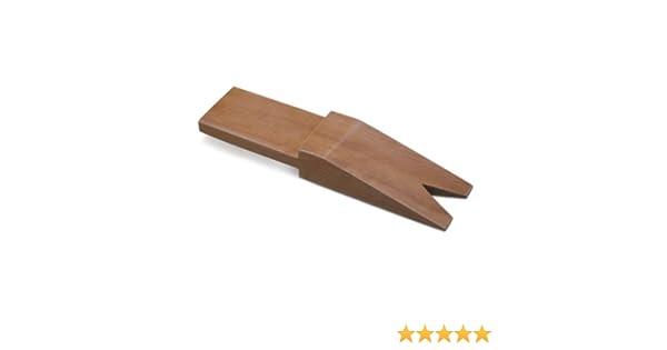 5-1//4 x 2-1//4 Hardwood Bench Pin w//V-Slot Jewelry Making Bench Tool