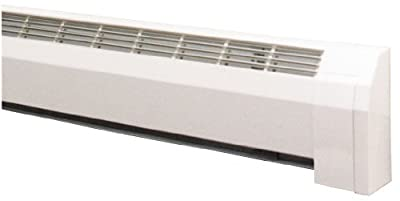 "24-3/4"" Hydronic Baseboard Heater, White"