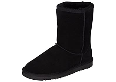 Kemi Women s Bella Classic Short Winter Boots – Suede Ladies Winter Snow  Boots 619bfd4615
