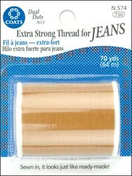 Bulk Buy: Coats & Clark Extra Strong Thread For Jeans 70 Yar