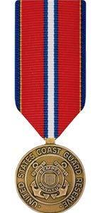 Medals of America Coast Guard Reserve Good Conduct Medal Miniature Bronze