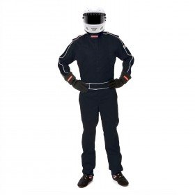 Pyrotect Racing Suit - Pyrotect 110401 Sportsman Deluxe Suit, Black, Large