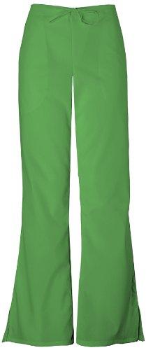 Cherokee Workwear Scrubs 4101 PETITE Low Rise Flare Leg Scrub Pant (Carnation Pink, 2XL-Petite)
