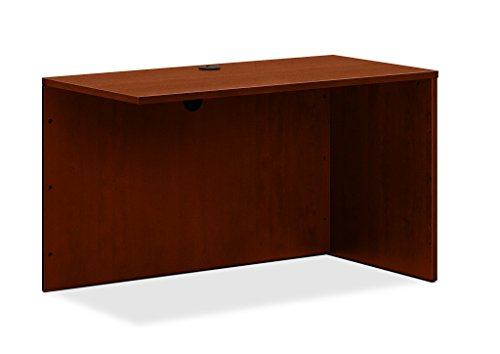HON BL Laminate Series Return Shell for Office, 48.25w x 24d x 29h, Medium Cherry (HBL2145) (Laminate Desk Ensemble)