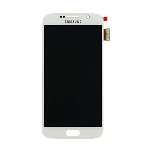 - Best Shopper - Replacement Part LCD Screen and Digitizer Assembly - White Compatible with Samsung Galaxy S6