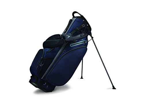 Callaway Golf 2017 Hyperlite 4 Stand Bag Double Strap Navy/Titanium/Black