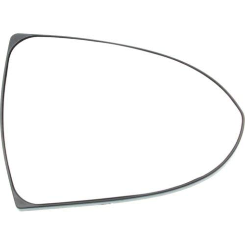 (Mirror Glass for Kia Sportage 11-16 Right Side Heated With Backing Plate)