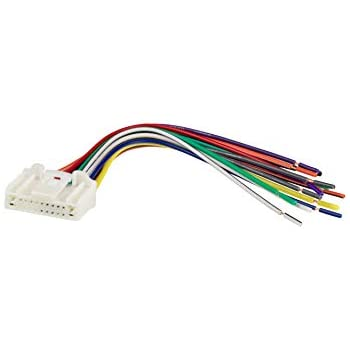 Amazon com: Metra 70-7552 Radio Wiring Harness For Nissan
