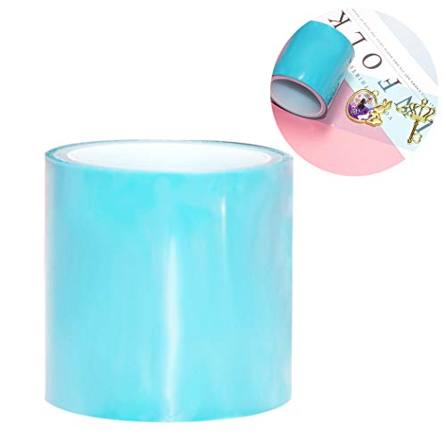 JUSTDOLIFE 1 Roll Craft Tape Reusable Paper Tape Glueless Tape for Hollow Metal Frame