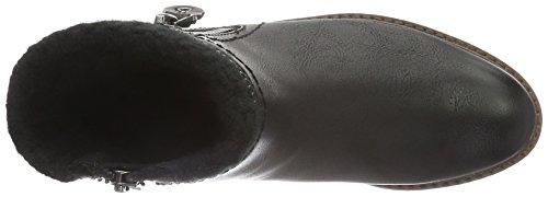 Marco Tozzi Cool Club Mädchen 46415 Kurzschaft Stiefel, Schwarz (Black Ant.Comb 096), 39 EU