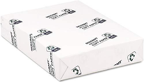 SKILCRAFT: Papel de impresora láser para inyección de tinta, 30% reciclado, 500 hojas, color blanco brillante...