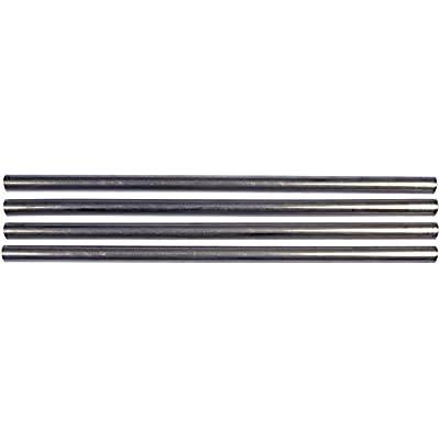 Dorman 800-633 Straight Rigid Aluminum Tubing - 12 In. x 1/2 In. OD (12mm), Pack of 4: Automotive