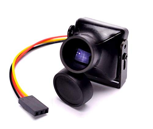 - HD 1200TVL FPV Camera CMOS NTSC 2.8mm Lens Mini CCTV Security Video Camera for FPV Quadcopter ZMR250