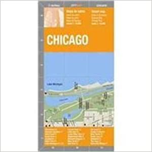 Chicago (City Center) Map by deDios (City Map) (Spanish