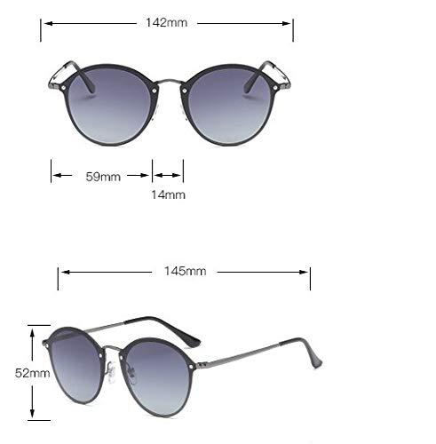 Sol wei 4 De Estilo De Sol Gafas Un Gafas tamaño Moda Hombre Marco De De De Gafas Estilo Tendencia Metal Grande De De Gafas Sol De Sol Moda De De 1 rrOZw6A1q