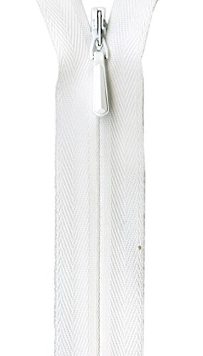 Unique Invisible Zipper - Zipper White