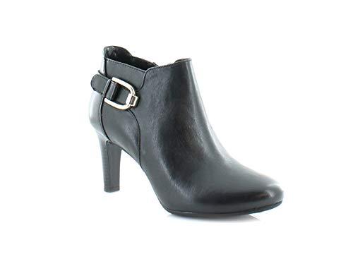 Bandolino Women's Layita Ankle Bootie, Black, 7.5 M ()