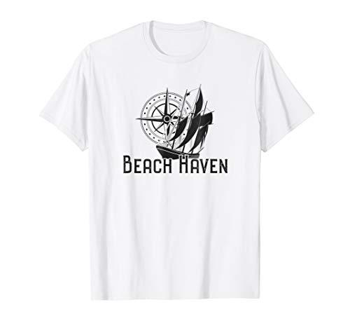 Beach Haven NJ T-Shirt Nautical Sailboat
