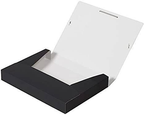 fester Karton mit soft-touch-Oberfl/äche 3 abgerundete Einschlagklappen in der Farbe Aqua OXFORD by ELBA 400103414 Sammelbox DIN A4 flache Eckspannergummis f/ür einen sicheren Verschlu/ß