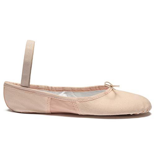 SO Schuh pink DANCA Leinen S Ballettschläppchen Spandex WUxxwfZq4O