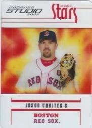 (2005 Studio Stars Baseball Card #50 Jason Varitek)