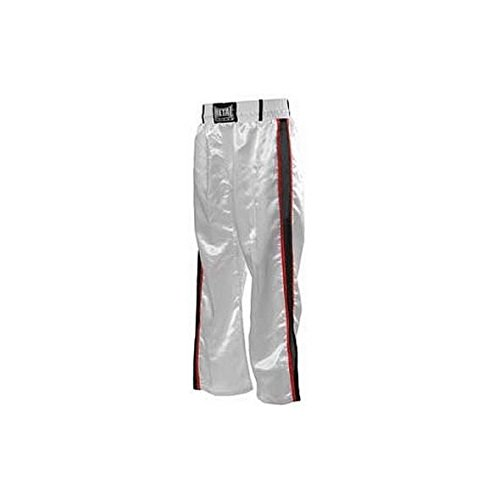 METAL BOXE Pantalon de Full Contact Blanc 2 Bandes