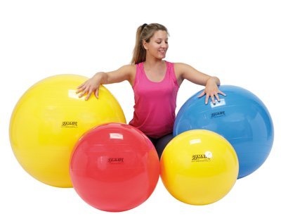 Physiogymnic Ball (Physiogymnic Inflatable Exercise Ball - Red - 30