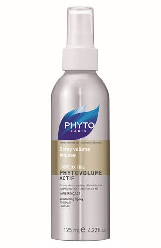 PHYTOVOLUME ACTIF Botanical Volumizing Spray | Paraben Free & Sulfate Free | Heat - Activated, Blow Drying, Weightless | For Fine Hair | Voluminous Hair, Plumps Hair | Keratin