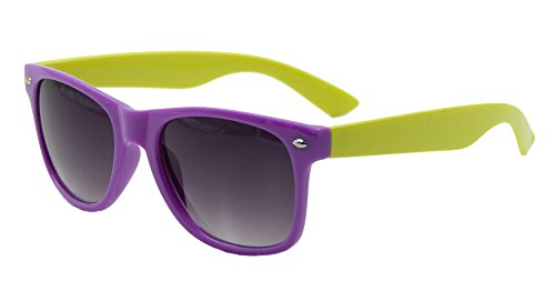 UV400 ® Wayfarer classique Wf25 Shop soleil Purple Yellow ASVP Lunettes de nZxXqZBY
