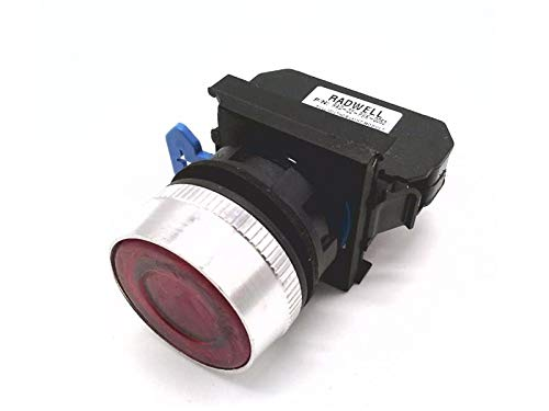 - RADWELL VERIFIED SUBSTITUTE ZB4BW0B42-SUB Body/Contact Assembly, Full Product Replacement, 22.5MM, Direct Supply, Integral LED, 24V (50-60HZ), RED, 1 N/C Contact Block