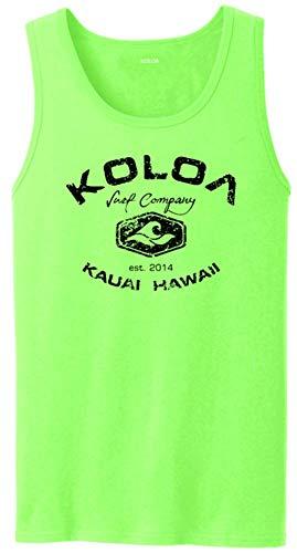 Koloa Vintage Arch Logo Tank Tops in Adult Sizes: S-4XL