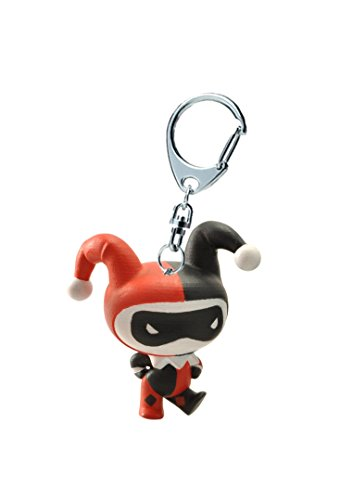 Chibi Pvc Keychain (DC Comics Justice League Chibi - Harley Quinn - key ring)