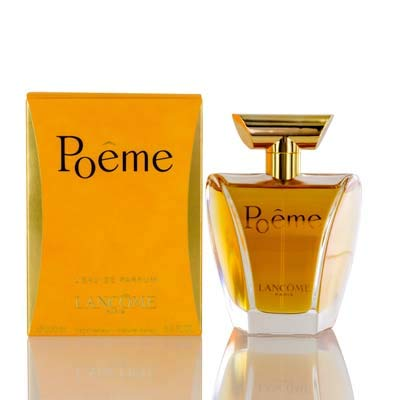 Poeme 3.4 Ounce Edp - Poeme by L a n c o m e. for Women Eau De Parfum 3.4 OZ (100 Ml.) Spray (IN MIND NEW Authentic and Fast Shipping)