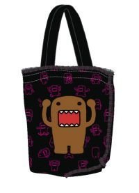 [Domo-Kun: Bag/Tote Bag - Domo Hands Up Print] (Domo Kun Handbag)