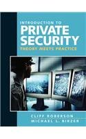 Introduction to Private Security: Theory Meets Practice ebook
