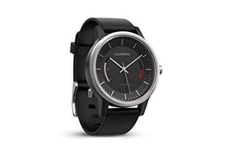 Garmin - - - Quality, - 0.79 - Round - Black - Steel Case Sports, Tracking, Running -