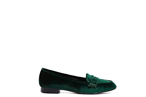 Verde Led923 Noir I17 Velours 244 Faible Chaussures Cafè Talon 8HSPqww5