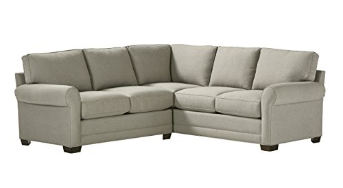 Stone & Beam Kristin Performance Fabric Sectional Sofa Couch, 93