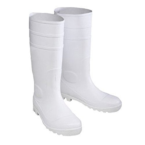 West Chester 8325 13 PVC Boot, Size 13, White