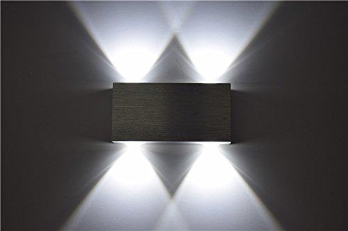 Lightess lampada inderna a risparmio applique led da parete