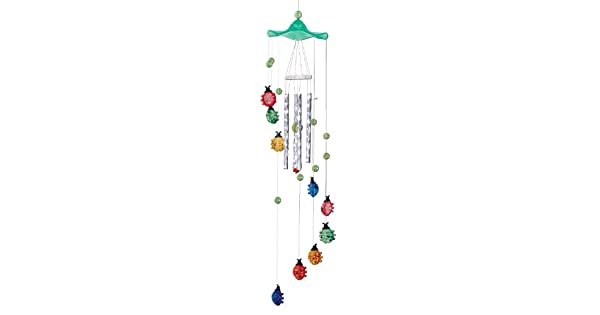 Amazon.com: Spoontiques Mariquitas acrílico Wind Chime ...