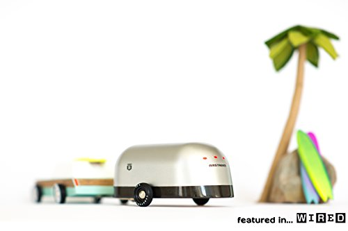Candylab Toys - Airstream Camper - Modern Vintage Trailer - Solid Beech Wood by Candylab Toys (Image #3)