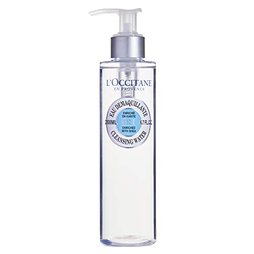 L'Occitane Alcohol-Free 3-in-1 Cleansing Water Enriched with Shea, 6.7 fl. oz.